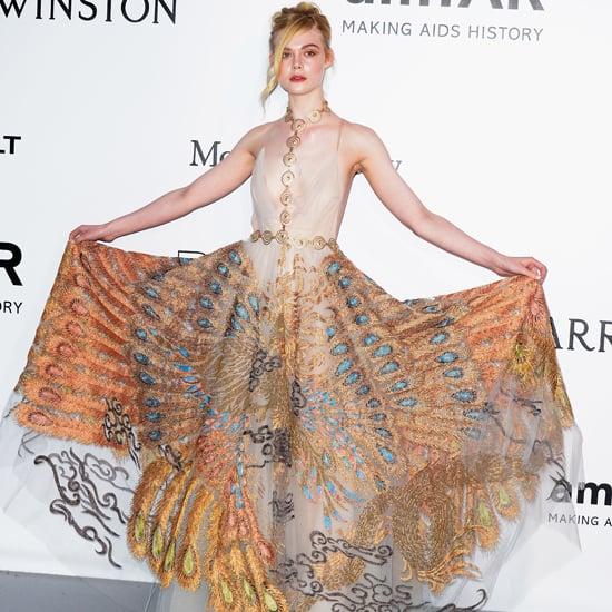 Elle Fanning's Dress at amfAR Gala Cannes 2016