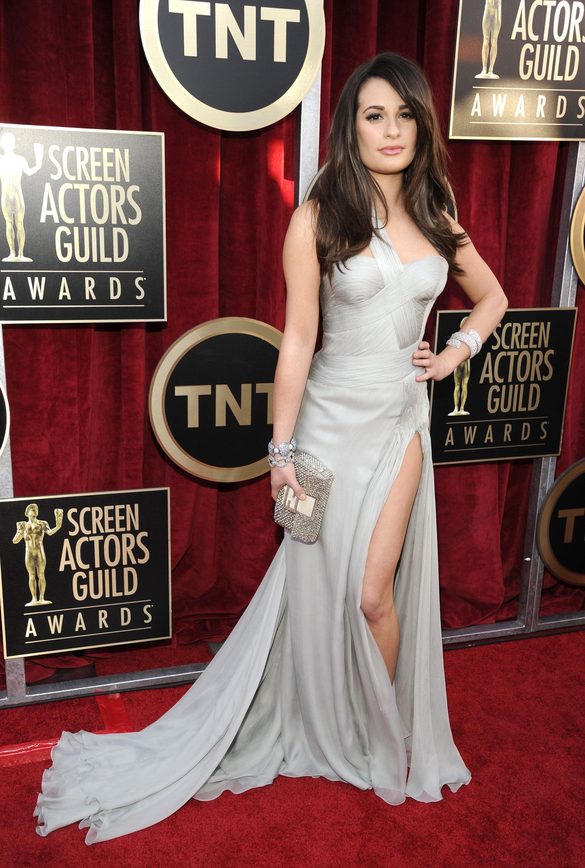 Lea Michele at the SAG Awards