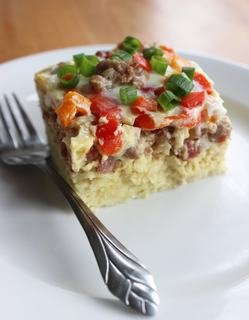 This Overnight Breakfast Casserole Is a Low-Carb Dream
