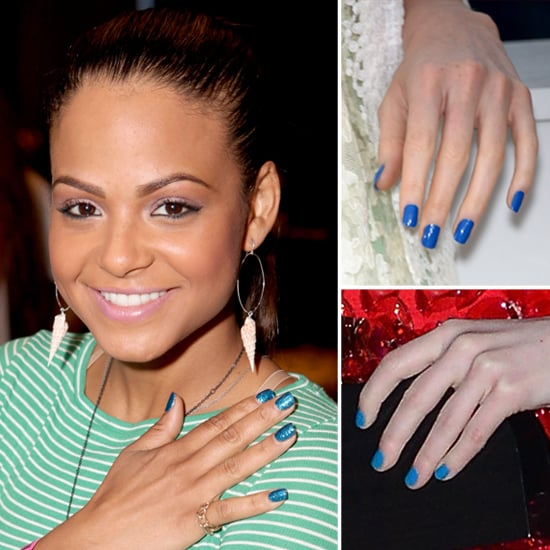 Nail Color Trend: Blue Nail Polish Trend, Summer 2012
