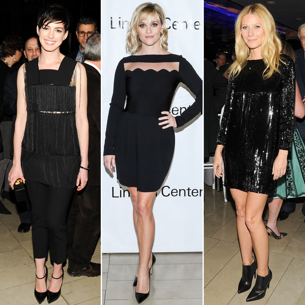 Learn to Wear a Black Dress from Gwyneth Paltrow