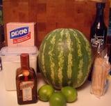Watermelon Margarita Popsicles