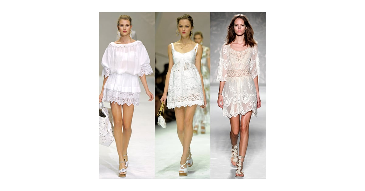 THIS SPRING'S TRENDS 2011: White, White and White!