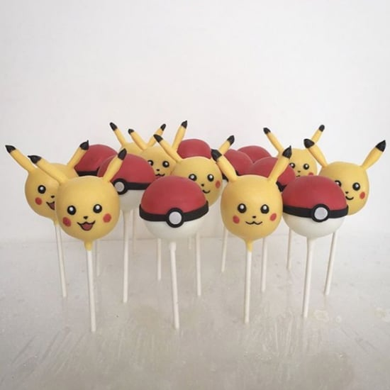Pokemon Cake Pops For Kids