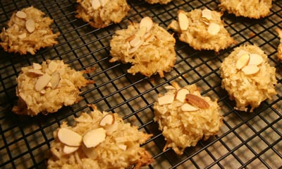 Coconut Almond Macaroons for Passover or Anytime