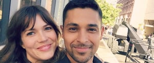 Mandy Moore and Wilmer Valderrama's Sweet Reunion Will Flood Your Heart With Emotions