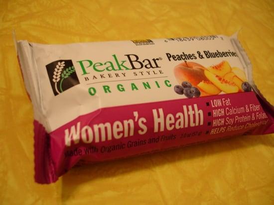 Food review peak bar women 39 s health popsugar fitness for Food bar health
