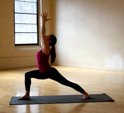 strike a yoga pose standing sequence  popsugar fitness