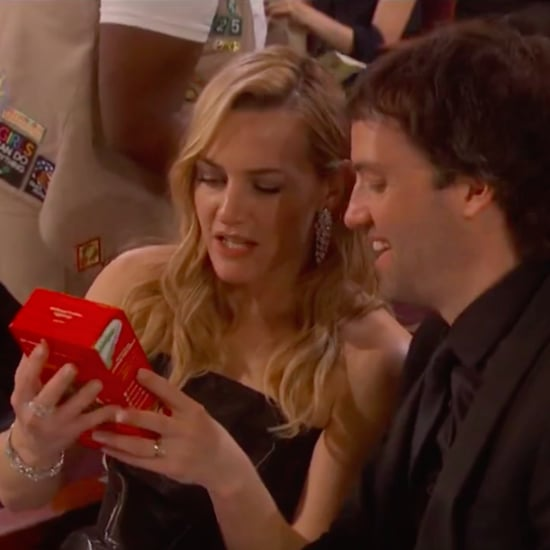 Celebrities Eating Girl Scout Cookies at Oscars 2016