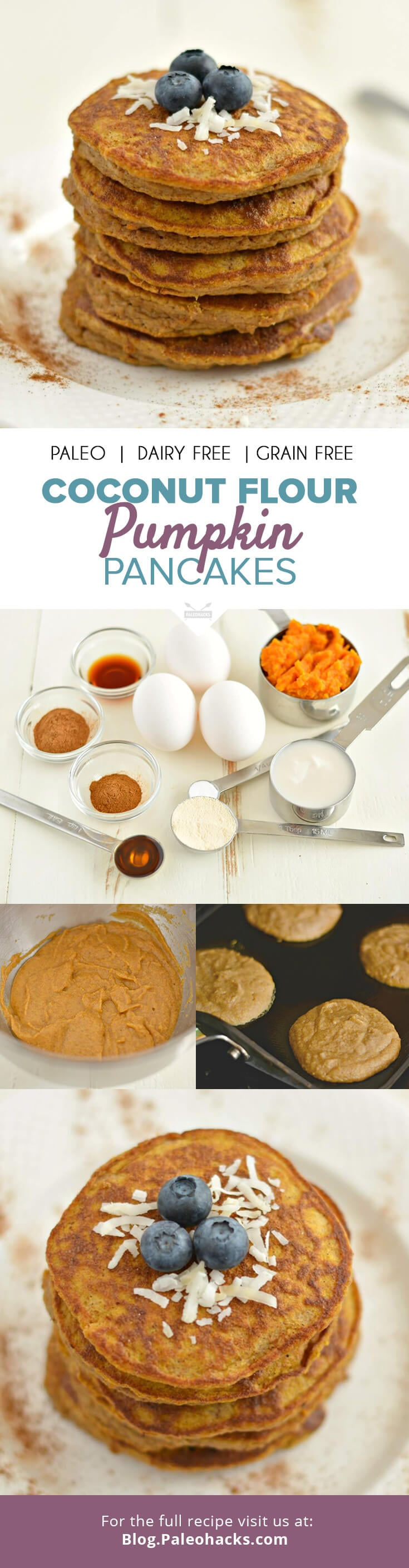Paleo Pumpkin Pancakes Recipe | POPSUGAR Fitness