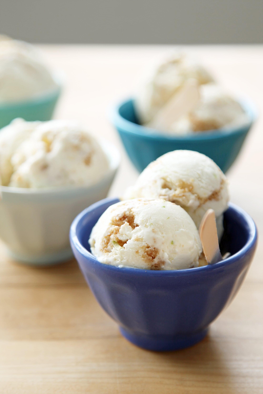 Key Lime Pie No Churn Ice Cream Recipe Popsugar Food