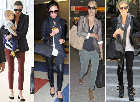 The Best in Celebrity Airport Style | Celebrity Style ...