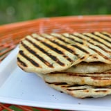 Grilled Flatbreads Stuffed With Herbs and Cheese