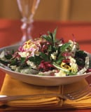 Parsley, Radicchio, and Napa Cabbage Salad with Lemon Vinaigrette