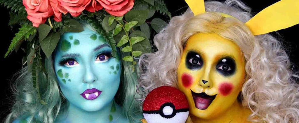 Even If You're Not a Video Game Fan, You'll Love These Pokémon Makeup DIYs