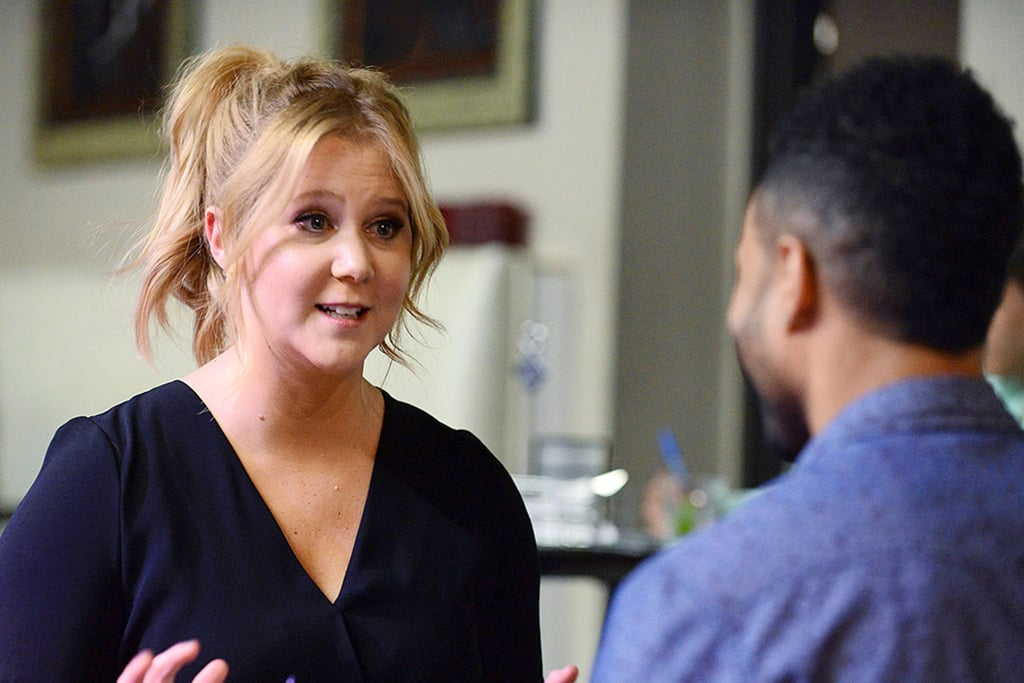 """PopsugarEntertainmentAmy SchumerAmy Schumer Talks About The BacheloretteAmy Schumer Calls Her Experience on The Bachelorette """"Dark""""July 2, 2015 by Maggie Panos122 SharesChat with us on Facebook Messenger. Learn what"""