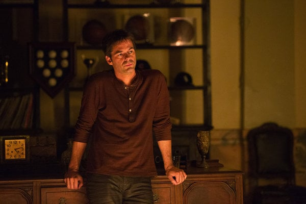 Billy Burke as Miles on Revolution.</p> <p>Photo courtesy of NBC