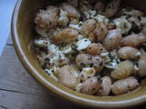 White Beans With Feta and Breadcrumbs