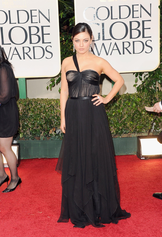 Mila Kunis in Dior.