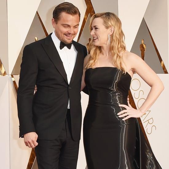 Leonardo DiCaprio et Kate Winslet aux Oscars 2016