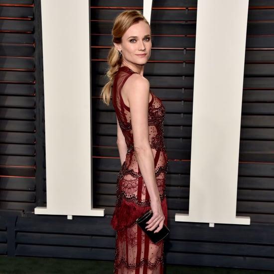 Diane Kruger's Dress at Vanity Fair Oscar Party 2016