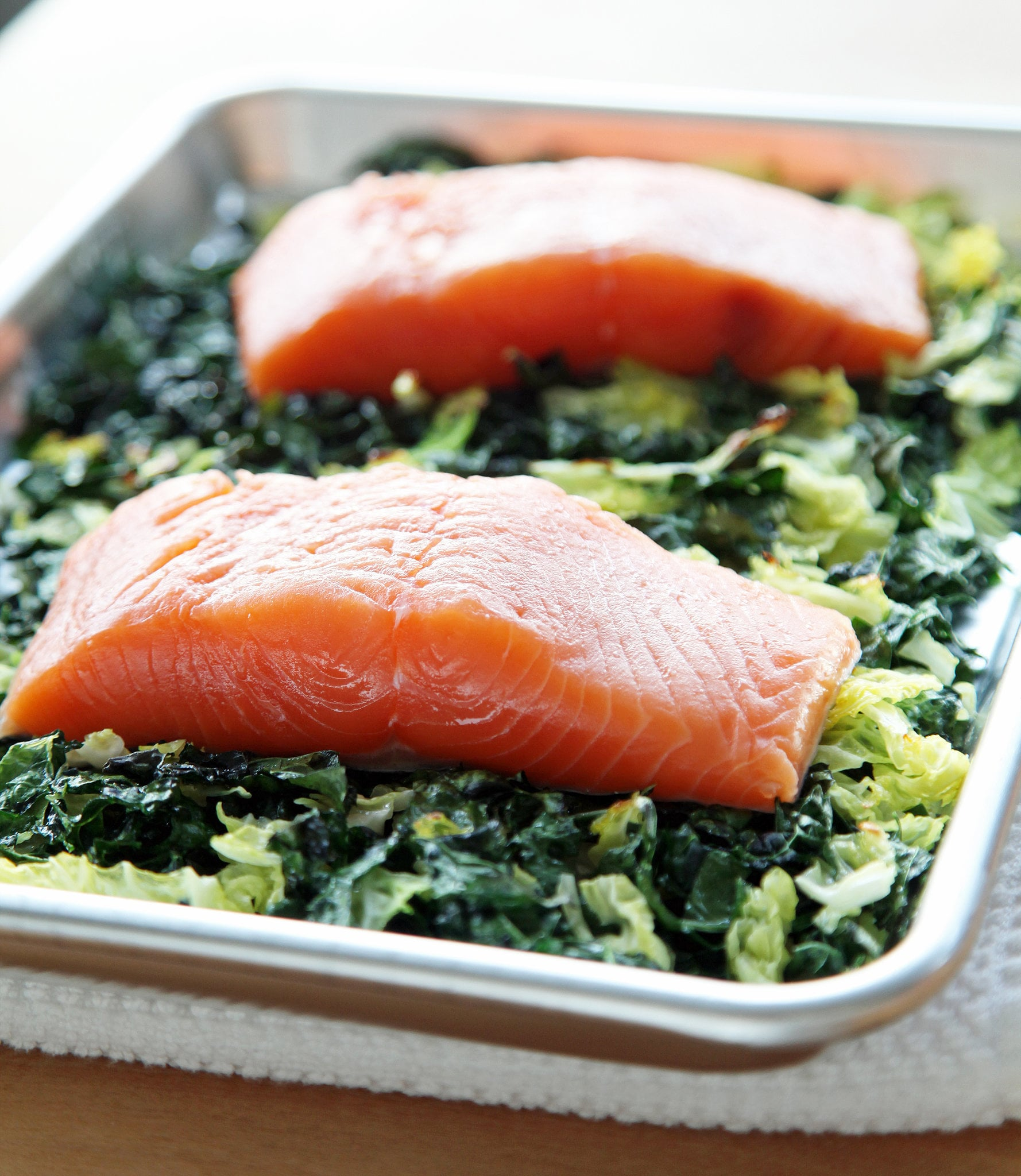 How chefs cook salmon popsugar food for How to cook salmon fish