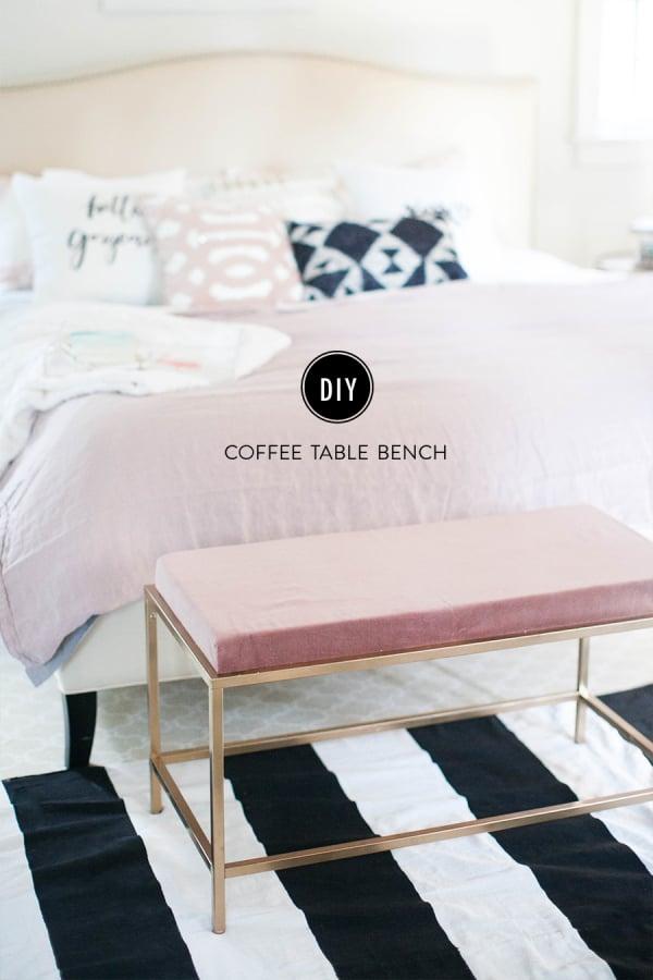 Diy Coffee Table Bench Popsugar Home