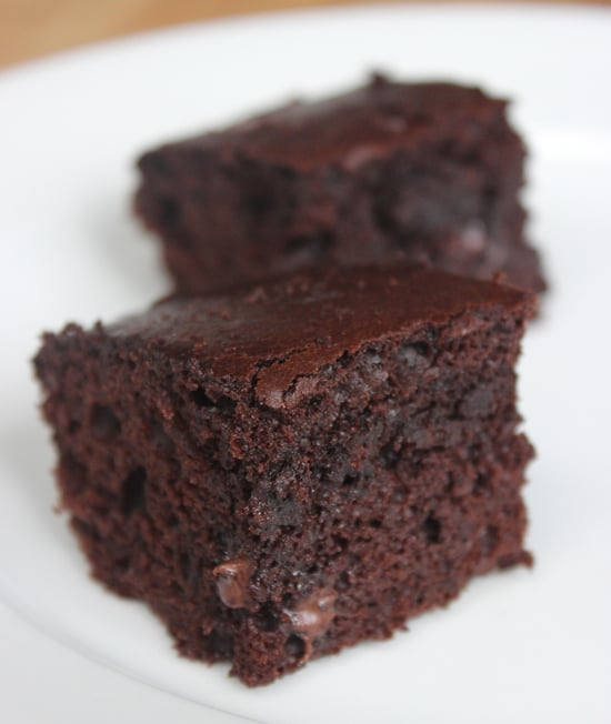 Easy Brownie Recipe  Stick Butter Cocoa Chocolate Chips