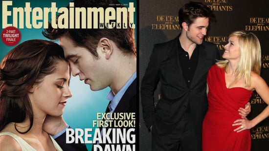 Video: Robert Pattinson at Water For Elephants Premieres in Berlin and Paris, Plus Breaking Dawn Pictures