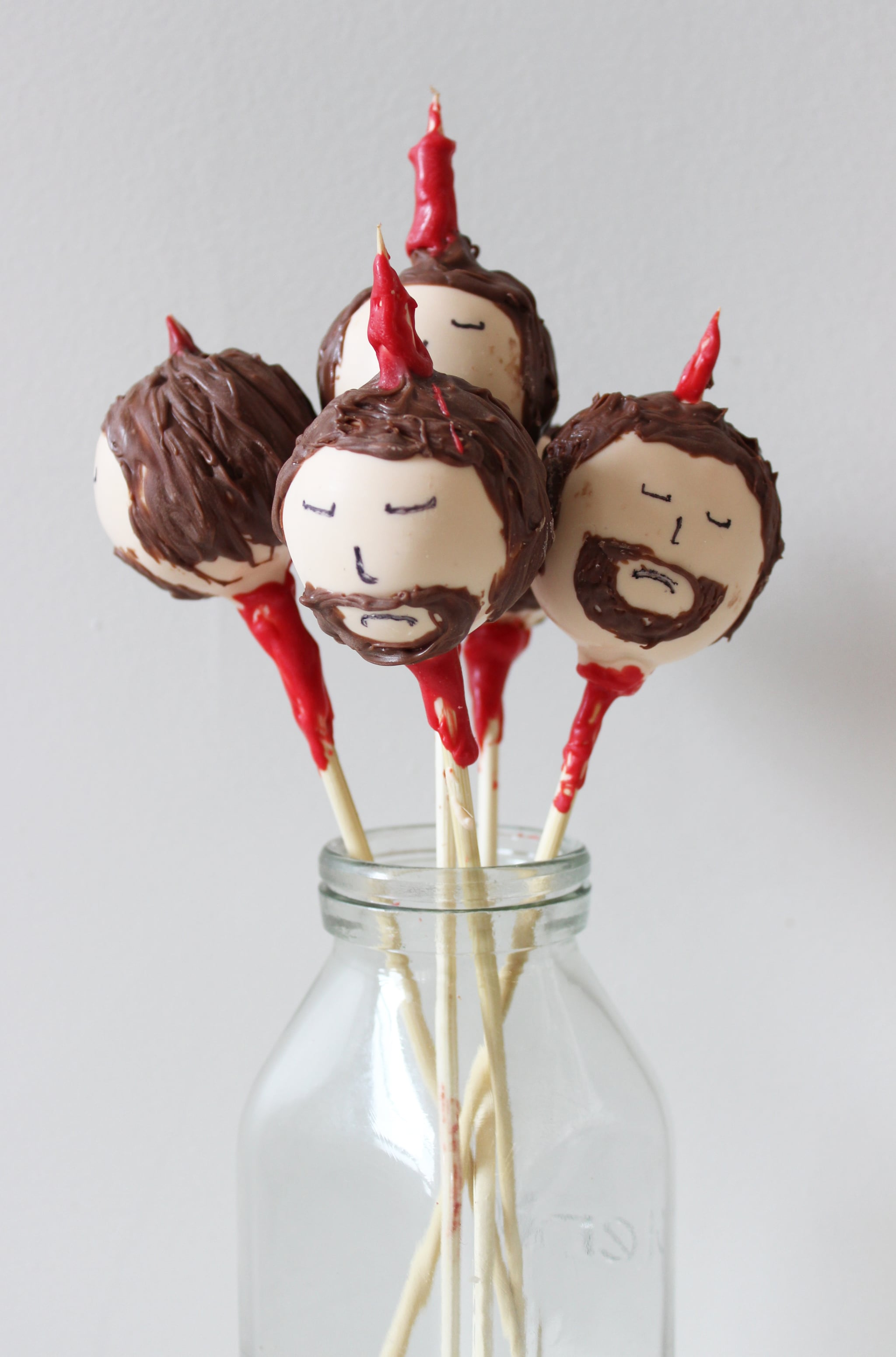 Game Of Thrones Ned Stark Cake Pops Recipe Popsugar Food