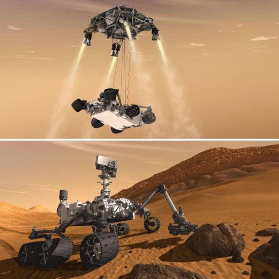 mars rover landing steps - photo #36