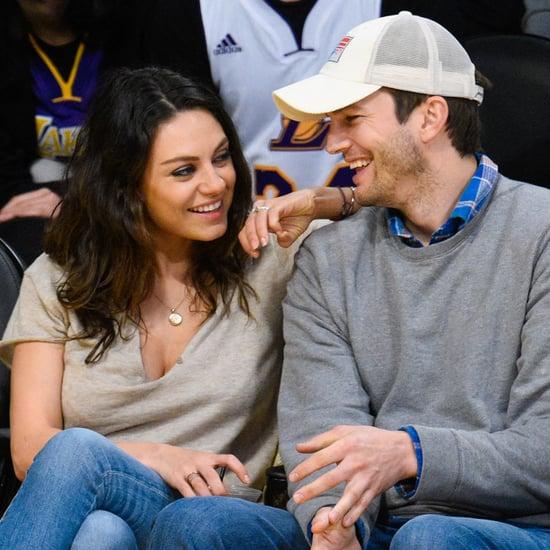 Mila Kunis Talks About Falling in Love With Ashton Kutcher