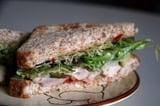 Rotisserie Chicken, Chutney, and Swiss Cheese Sandwich