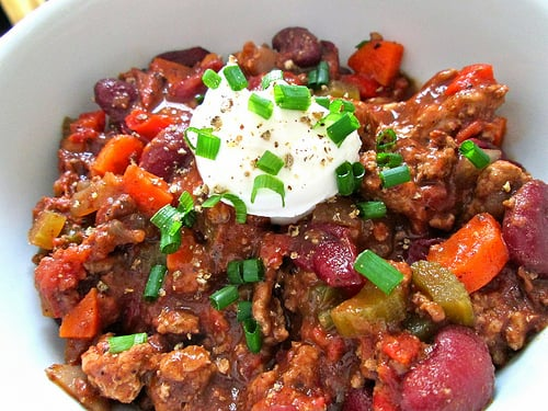 Turkey Beer Chili