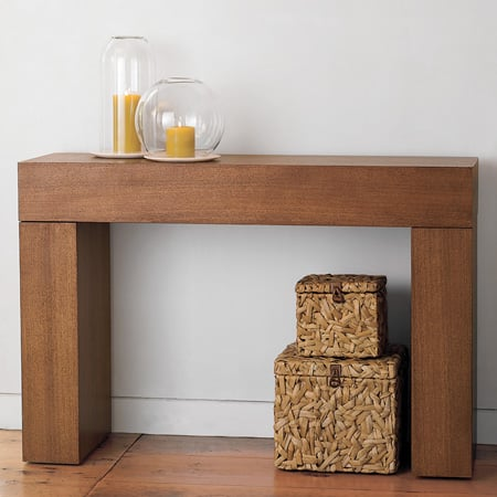 Steal Of The Day West Elm Chunky Console Table Popsugar