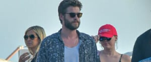 """Miley Cyrus Aims to """"Make America Gay Again"""" While Grabbing Lunch With Liam Hemsworth"""