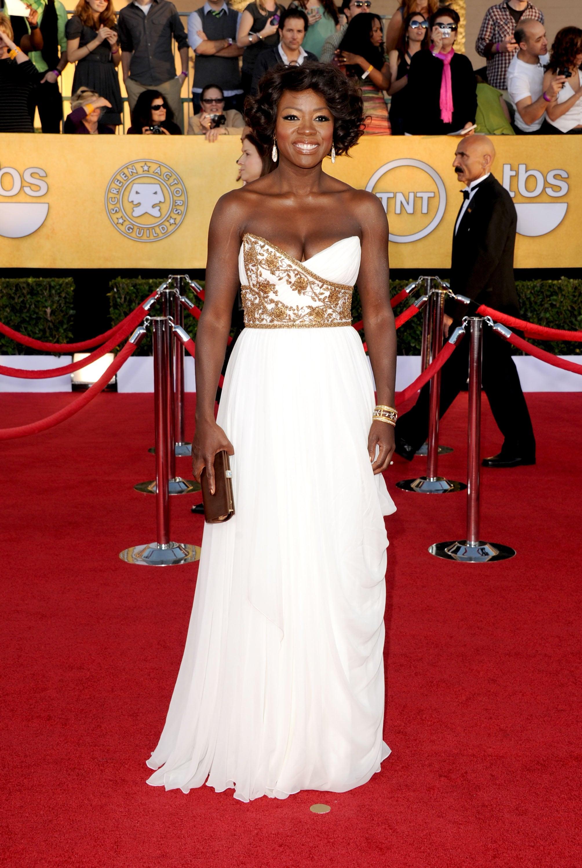 Viola Davis at the SAG Awards
