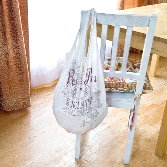 Eco Chic: Upcycled T-Shirt Grocery Bag