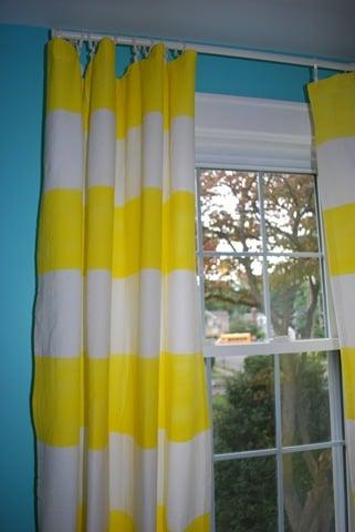 Cool Idea Fabric Painted Curtain Panels Popsugar Home