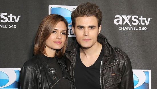 Paul Wesley and His Wi...