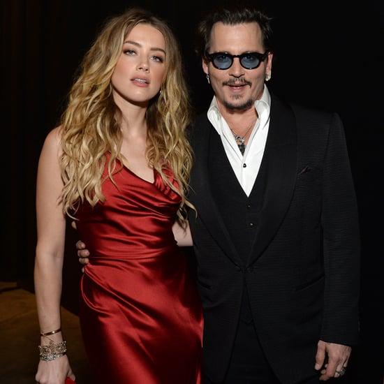 Johnny Depp and Amber Heard at Art of Elysium Gala 2016