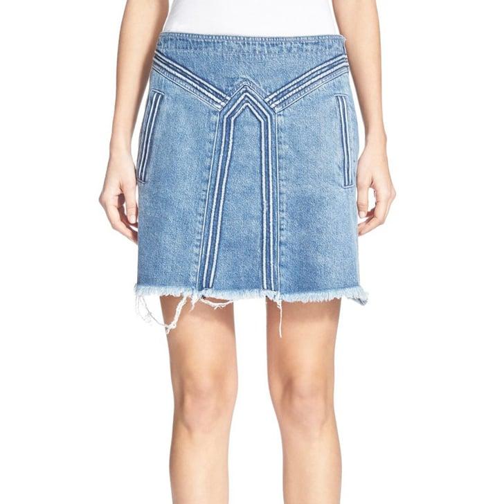 buy now denim skirts
