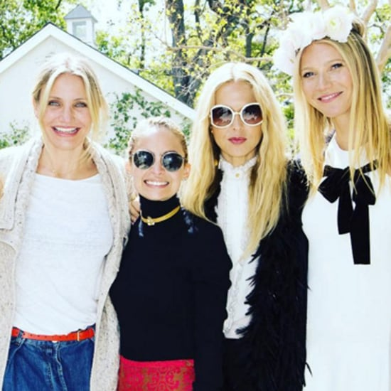 Gwyneth Paltrow and Celebrity Friends at Goop Lunch