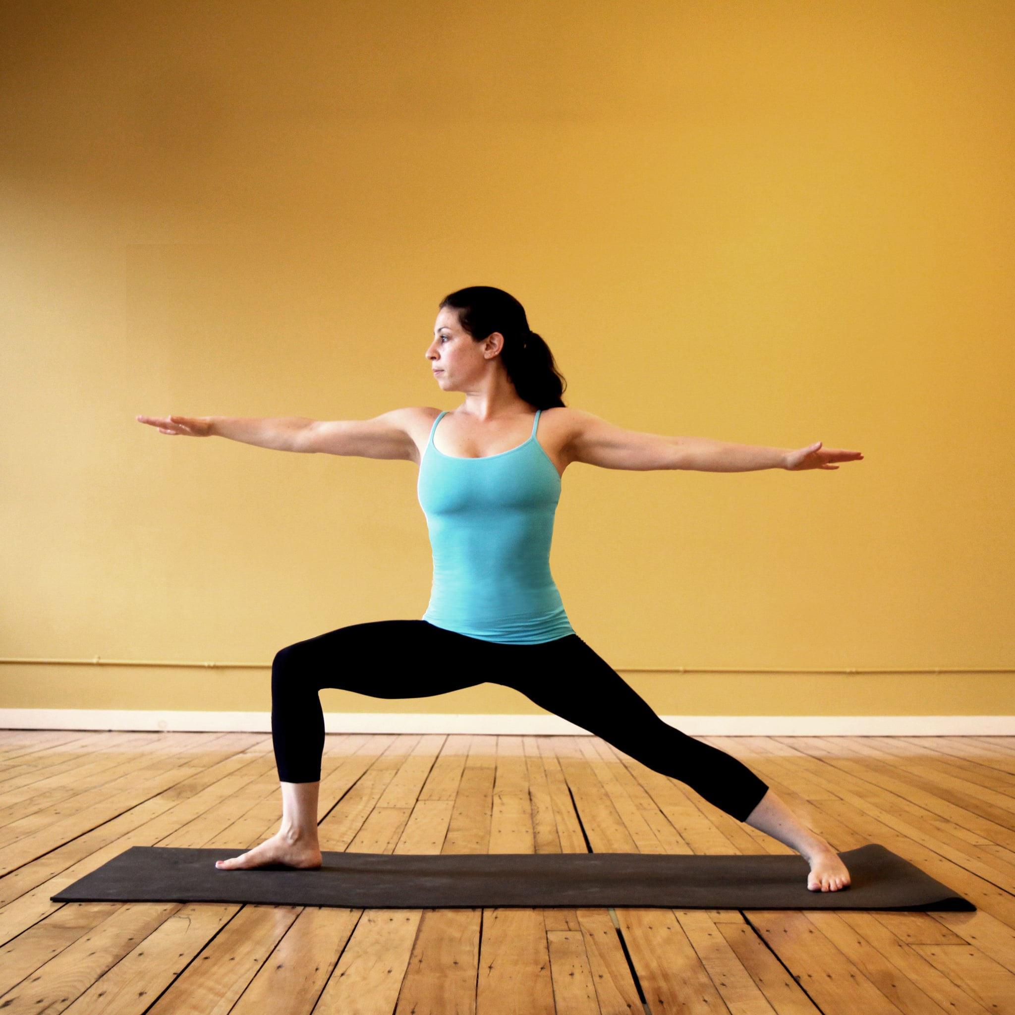 Strike a Yoga Pose: Warrior 2 | POPSUGAR Fitness