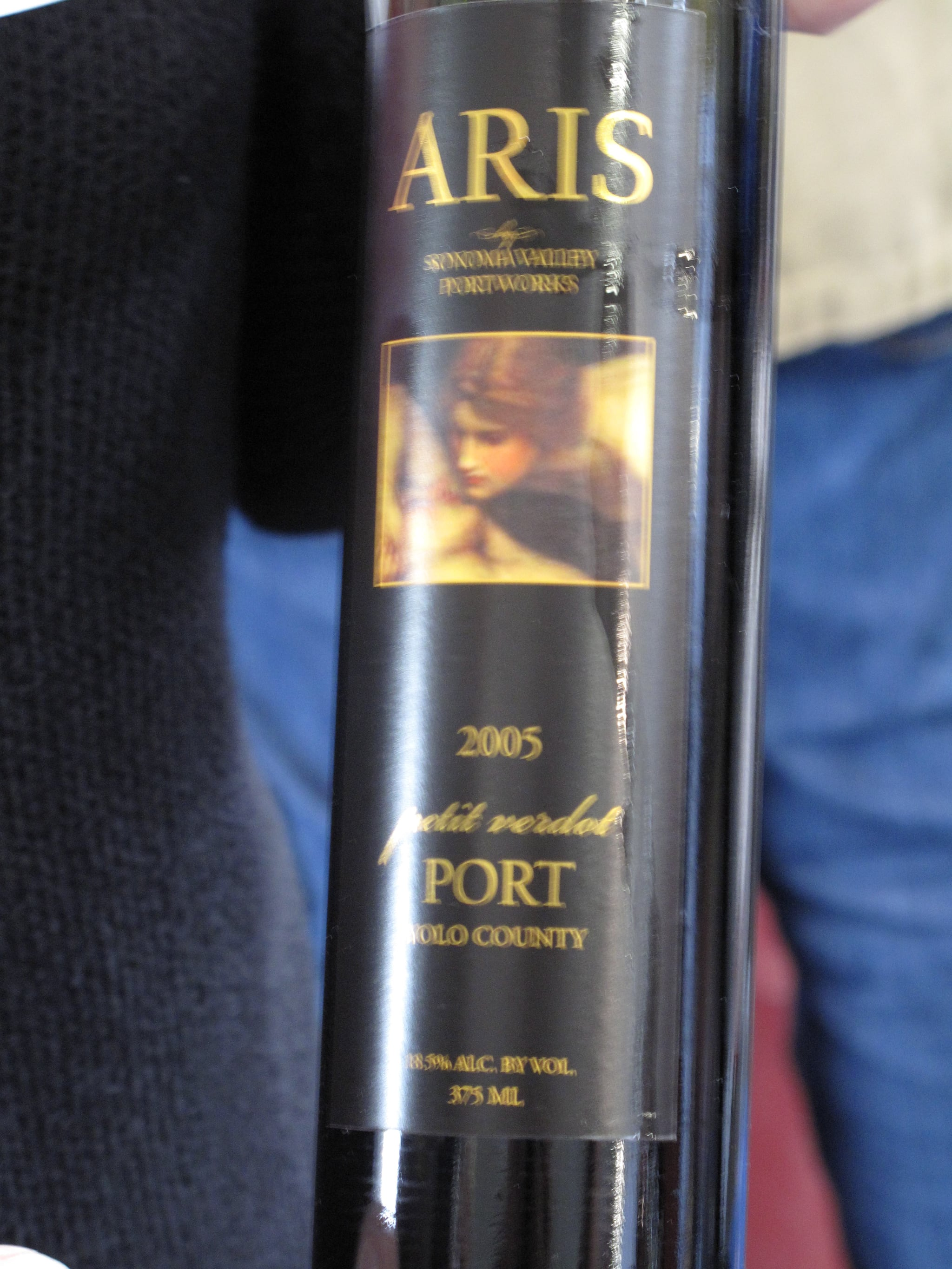 Considering I rarely see Petit Verdot used as anything but a blending grape, I was shocked when the pourer pulled out a bottle of Port that had been hiding. It was made with nothing but Petit Verdot.<br />
