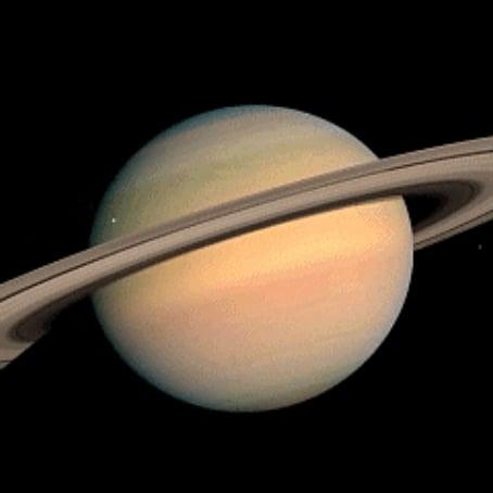 NASA Cassini Titan Moon Photo