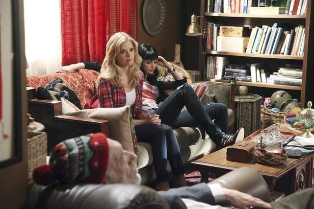 Dreama Walker and Krysten Ritter in Don&#039;t Trust the B---- In Apartment 23.</p> <p>Photos copyright 2012 ABC, Inc.
