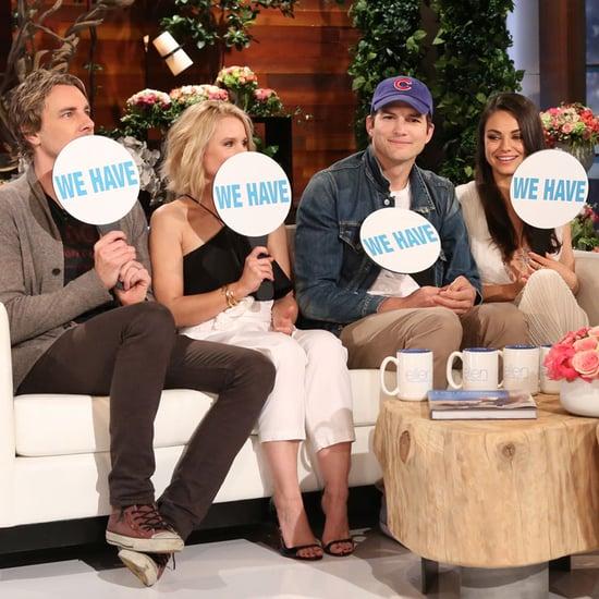 Kristen Bell and Mila Kunis Play Never Have I Ever on Ellen