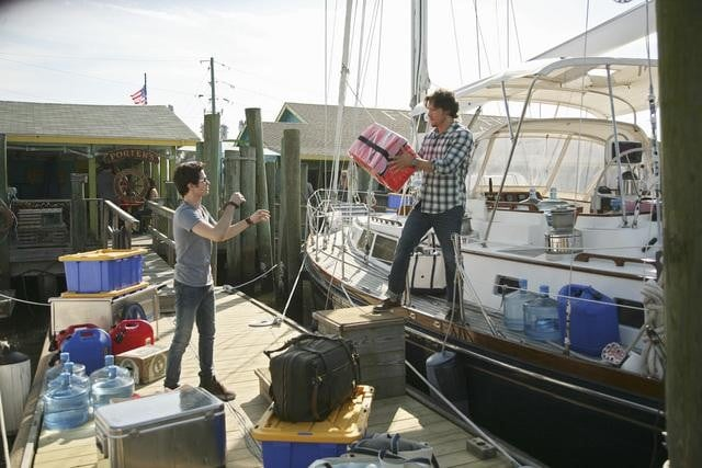 Connor Paolo and Nick Wechsler in ABC&#039;s Revenge.</p> <p>Photo copyright 2011 ABC, Inc.