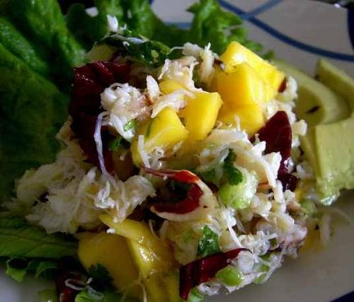Recipe for Ellie Krieger's Easy Crab Salad With Mangoes | POPSUGAR ...
